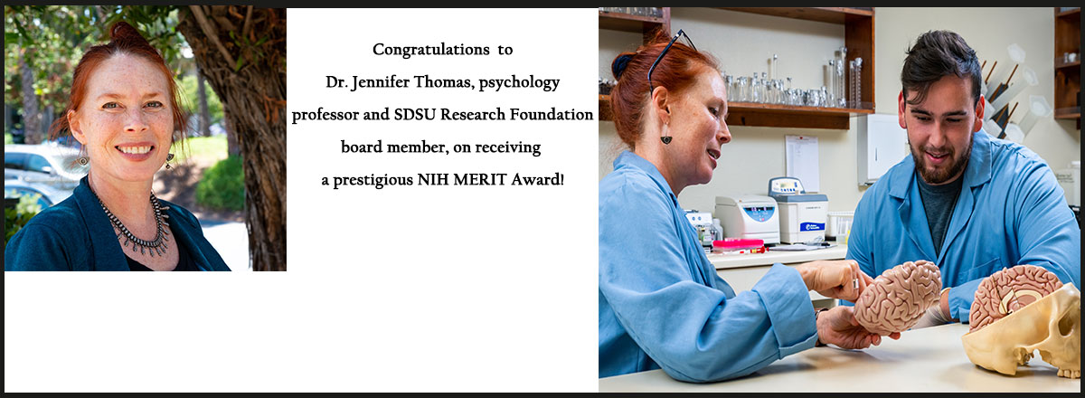 Congratulations Dr. Jennifer Thomas